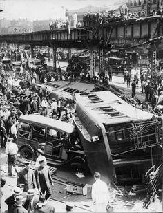 6.25.1923 - El Crash at Atlantic & Flatbush Aves