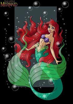 *ARIEL ~ The Little Mermaid,1989