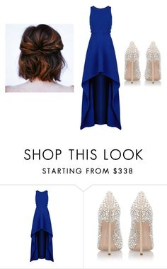 """Untitled #590"" by katelyn-style ❤ liked on Polyvore featuring BCBGMAXAZRIA and Casadei"