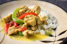 Spicy Chicken Thigh Stir-Fry and Cauliflower Fried Rice - Wild Diet Book