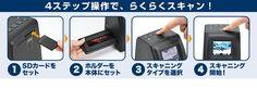 フィルムスキャナー(デジタル化・液晶モニター付・ネガフィルム&ポジフィルム対応)     画素数じゃなくて解像度(ppi)で表現して欲しいな   コマのフチが切れたりしたら微調整できるかな?  パノラマ的なコマは非対応かな?