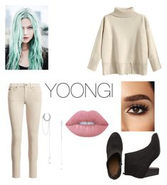 """YOONGI"" by bellayang05 on Polyvore featuring beauty and Lime Crime"