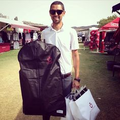 Egyptian Grand Prix rider Nayel Nassar shows off his haul of Cavalleria Toscana gear at The Oaks. Cavalleria Toscana makes cutting edge fashion for both male and female riders. #cavalleriatoscana #mensfashion #maleequestrians #equestrian #equestrianfashion #horse