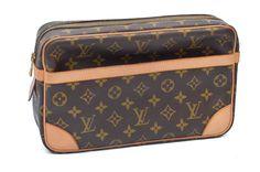 Louis Vuitton Monogram Compiegne 28 Unisex Pouch