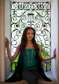 "Bonny Bennett The Vampire Diaries Season 1 Promo ""Greystone Mansion"""
