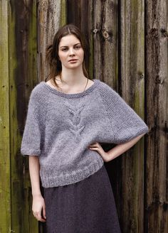 NEW ROWAN PATTERN BOOK A/W 2013: Derwent by Marie Wallin, in Autumn Knits booklet, available July 15, 2013. Made with Rowan Cocoon.
