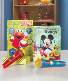 Licensed Sing-Along Book & Microphone