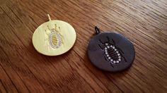 The Osiris Pendant #Hvisk #HviskStylist #Jewellery #Retro #Retrovibes #Wood #Stone #Rhodium #Gold #Diamonds #Pendant