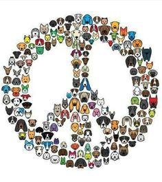 Peace dogs