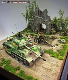 "Diorama ""Going stealth - Kunsten camouflage"""