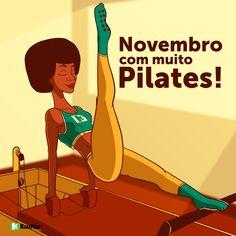 Novembro com muito Pilates!