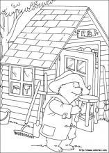 Paddington Bear Coloring Pages On Book