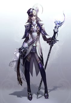 """art-of-aion: """"New aion concept artist identified thanks to bashful-critter! Pencil1203 on CGHUB. He did the art for a lot of the 2.0 gear, as well as some of the anuhart gear and the pink female bard art (not included because it is already..."""