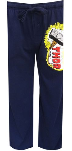 WebUndies.com Marvel Comics Thor's Hammer Lounge Pants