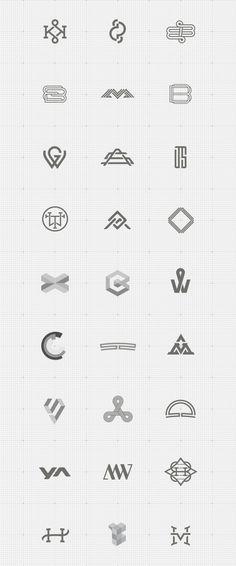 Serie de Monogramas.