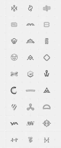 https://www.behance.net/gallery/16613959/Monogram-Showcase