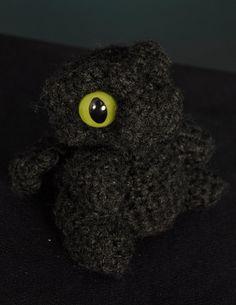 Smokey Baby Dragon by TheTwistsNTurns on Etsy etsy.com/shop/TheTwistsNTurns  $20