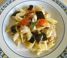 m@tematicaecucina: Pasta con Melanzane e Tonno