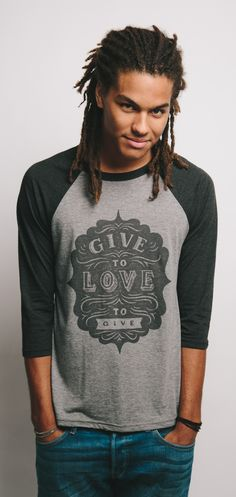 GIVE to LOVE to GIVE! This #Sevenly line classic is back from the Sevenly Vault! See all new styles & colors.