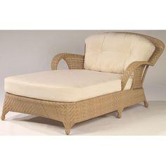 Whitecraft Boca Wicker Double Chaise Lounge - S594061XX
