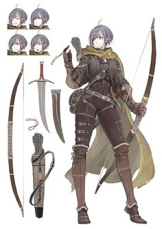 Safebooru is a anime and manga picture search engine, images are being updated hourly. Female Character Concept, Fantasy Character Design, Character Creation, Character Design Inspiration, Character Art, Character Sheet, Fantasy Armor, Anime Fantasy, Medieval Fantasy