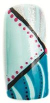 Nail Art Studio: Teal Geometry - Style - NAILS Magazine