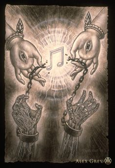 Music of Liberation by Alex Grey I absolutely LOVE this artist.