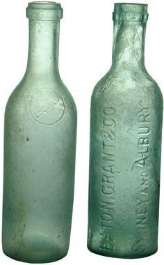 Soda Bottles, Wine Bottles, Antique Glass Bottles, Vintage Bottles, Tins, Flasks, Auction, Antiques, Gallery
