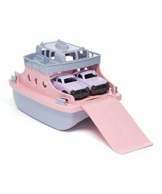 Another great find on #zulily! Pink & Purple Ferry Boat Set #zulilyfinds
