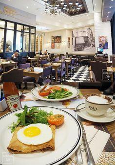 The Paul Bakery Cafe Bangkok Thailand