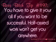 Boss Bitch Tips ♔