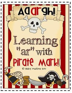 Teaching /ar/ has never been more fun than when you get your pirate booty in gear to teach with the help of Pirate Mark!  Of course, Pirate Mark th...