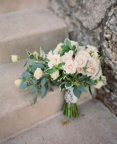 Bulk Up Your Wedding Bouquets and Centerpieces With Eucalyptus! | Photo by: Lisa Hessel Photography | TheKnot.com