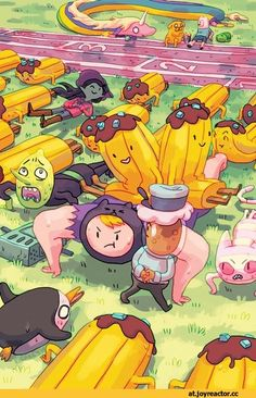 Adventure time sports day ^_^