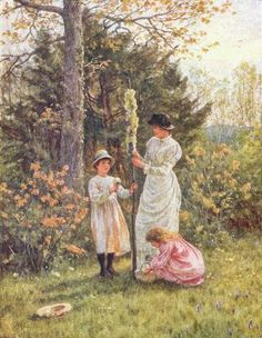 May Day', Helen Allingham