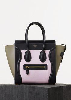 c781662db6bd Spring   Summer Runway 2015 - Micro Luggage Handbag in Goatskin