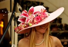 Head-to-Toe Kentucky Derby Fashion Guide The Derby Hat Whether youre in the infield or a box in Millionaires Row, hats are a must at the Derby. Description from pinterest.com. I searched for this on bing.com/images