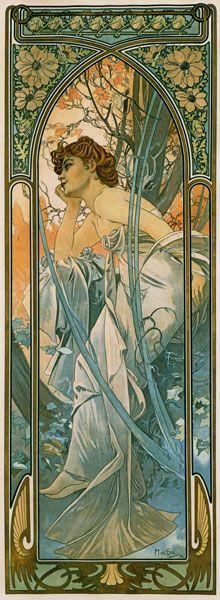 Alphonse Mucha,prints on canvas,giclee,Art Nouveau Art Nouveau Mucha, Alphonse Mucha Art, Art Nouveau Poster, Art Nouveau Design, Illustration Photo, Art Nouveau Illustration, Images Victoriennes, Illustrator, Arte Floral