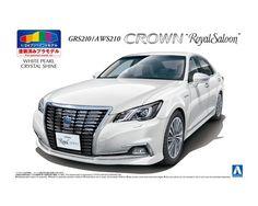 TOYOTA GRS214/AWS210 CROWN ATHLETEu002715 (PRECIOUS BLACK  PEARL) AOSHIMA English   Aoshima   Pinterest   Athlete And Toyota