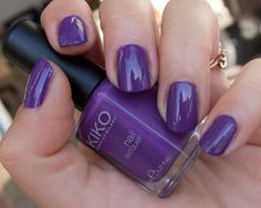 Kiko 292 Light Grape #kiko #purple #nailpolish