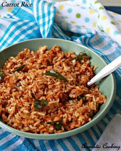 Aromatic Cooking: Carrot Rice