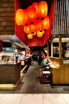 Tokyo Ramen, Macquarie - Mima Design - Creating Branded Retail Hospitality Environments