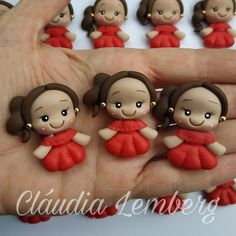 Cold Porcelain, Porcelain Ceramics, Bug Snacks, Polymer Clay Disney, Cute Baby Dolls, Pasta Flexible, Clay Creations, Party Favors, Biscuits
