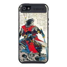 SOLD! Cool oriental classic japanese samurai warrior art cases for iPhone 5 $49.95