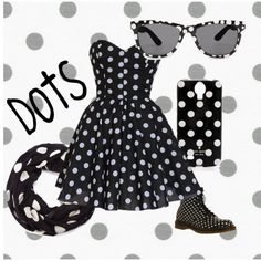 """""""Dots"""" by blan-xoxo on Polyvore"""