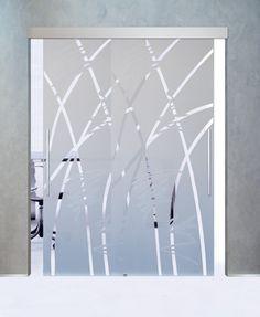 Porte Vetro Cristallo di Mazzoli Vetri d\'Arte — Porte Vetro | Studio ...