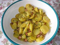 Klassischer Kartoffelsalat Mit Essig Und öl Rezept Salate