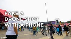 """Fake a Drone Shot with a Phone   In this video tutorial Chung Dha is showing you a setup to get a really nice drone / jib / crane shot with your phone or iPhone for filming at no fly zones events and locations so you still can get those really nice high angle shots without breaking any rules. The only annoyance is people shouting: """"that is a big selfie stick"""".  You may also like:5 ways to use a Plastic Bag for Photography  About Chung Dha:   My name is Chung Dha if you ever meet me IRL you…"""