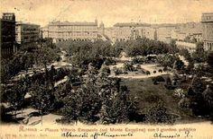 Foto storiche di Roma - I Giardini di Piazza Vittorio