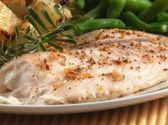 Baked Fish Fillets...simplicity at its finest. Fish is baked with the least amount of fuss!